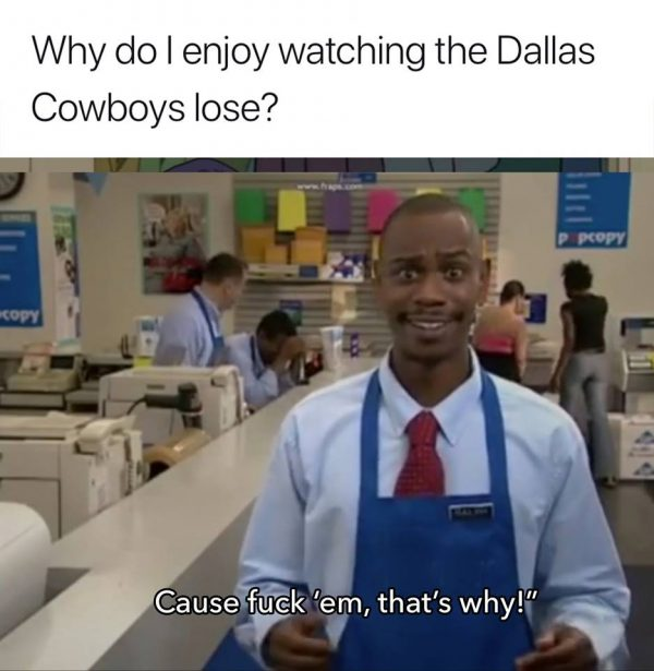 F the Cowboys