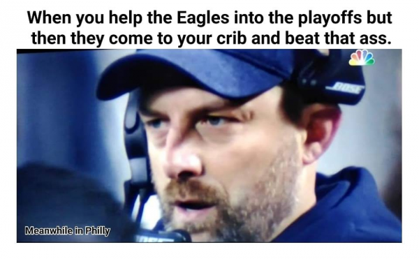 Helping the Eagles Backfires