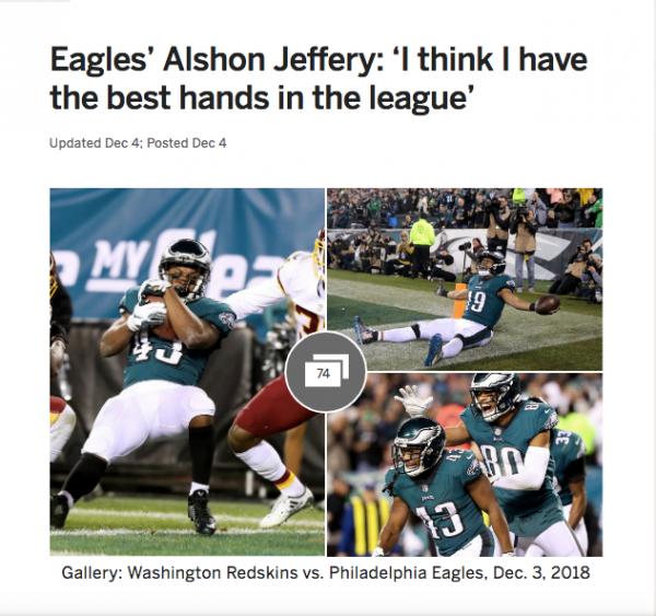 Jeffery Best Hands in the League