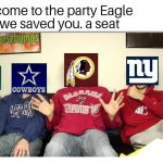 NFC East Losers Party