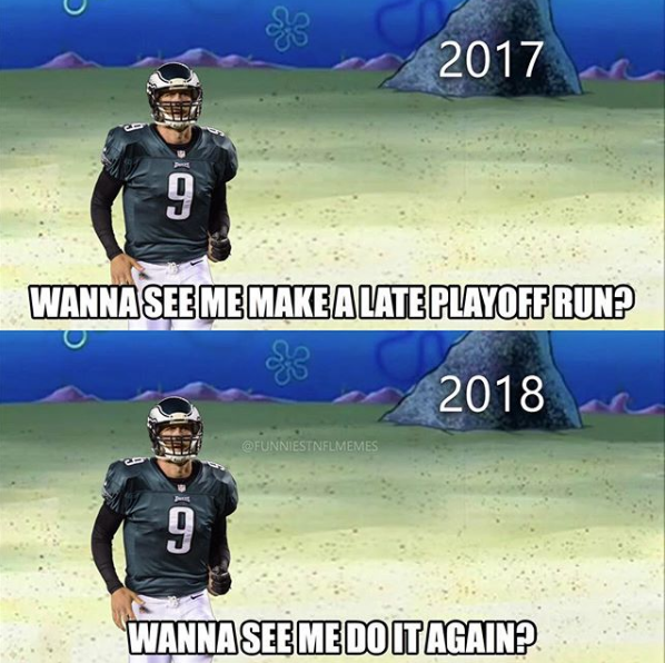 Chicago Bears Kicker Meme