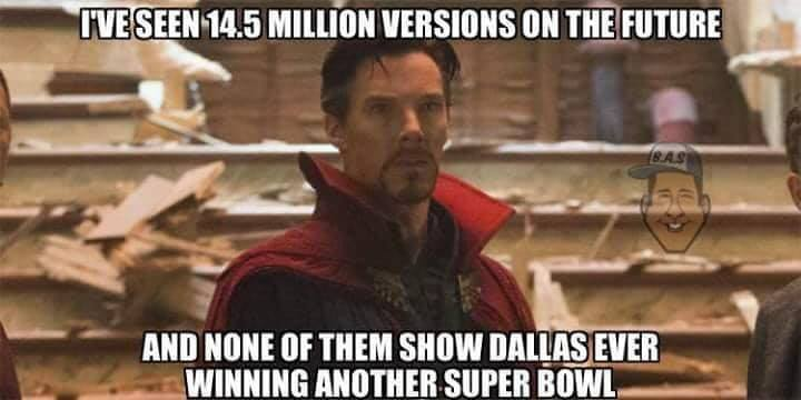No Cowboys Super Bowl