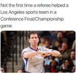 Not the 1st Ref