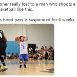 Pacquiao Ugly Throw Basketball