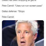 Pete Carroll Stunned