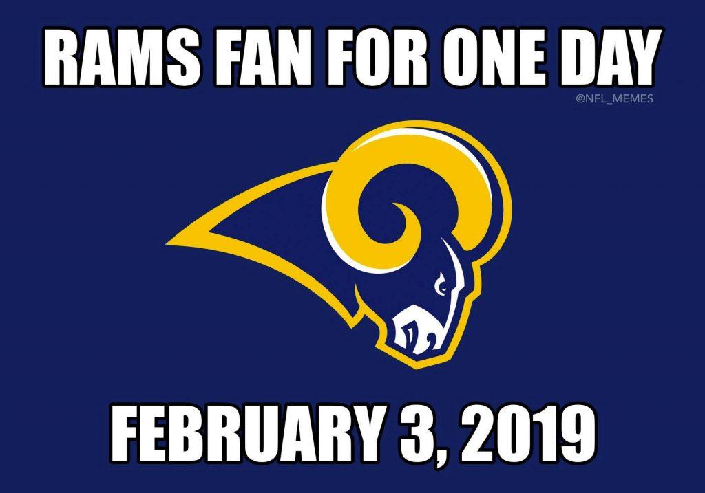 Rams fan for a day