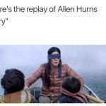 Replay of Allen Hurns Injury