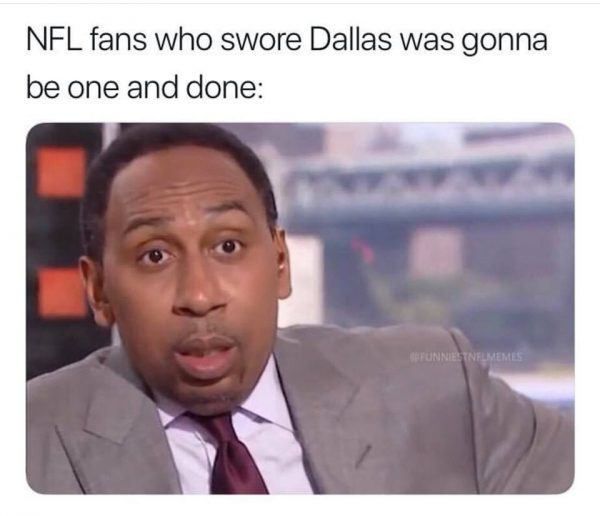 Stephen A. Smith after Cowboys Win