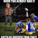 Rams Almost Had It