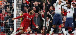 Salah goal vs Tottenham