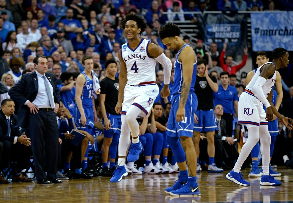 Kansas Beats Duke