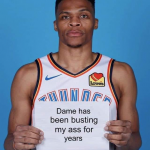Westbrook Admits