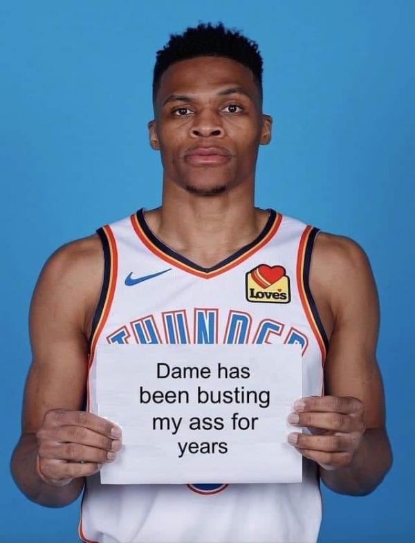 Westbrook Admits
