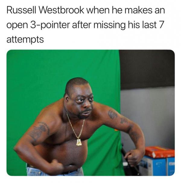 Westbrook Flexing