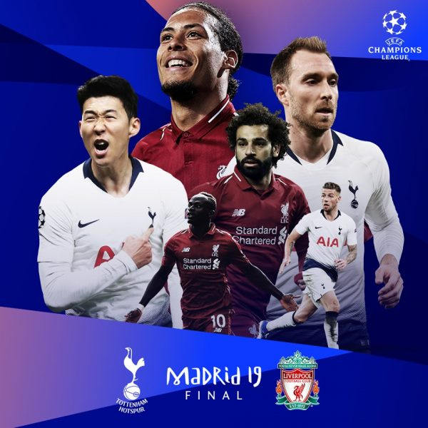 Champions League 2019 Final Poster