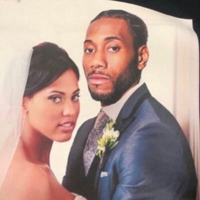 Kawhi With Ayesha Curry