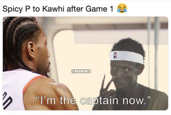 Siakam to Kawhi Captain Meme