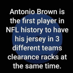Antonio Brown Clearance Rack