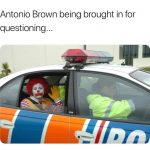 Antonio Brown Clown Meme
