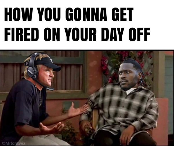 Antonio Brown Fired on your day off