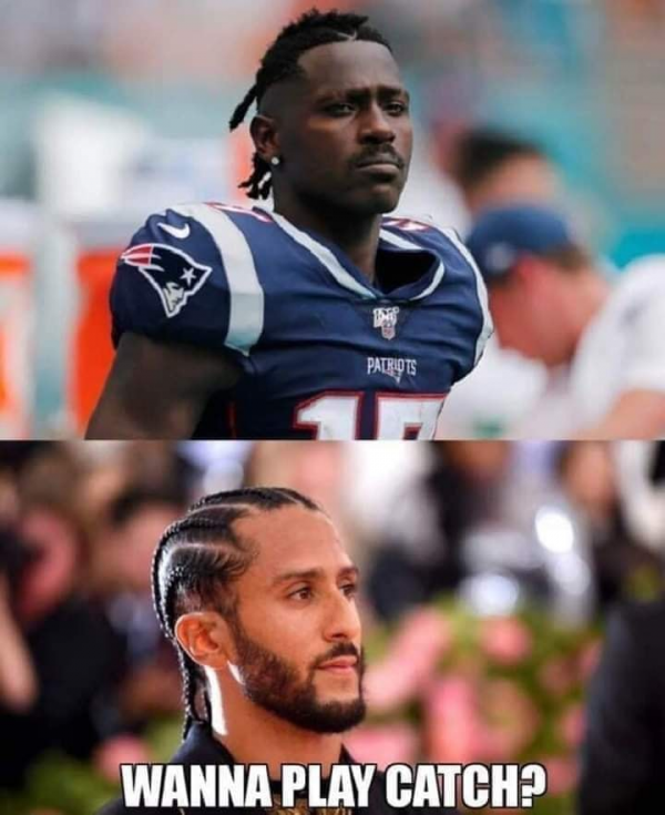 Antonio Brown Kaepernick