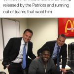 Antonio Brown McDonalds