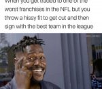 Antonio Brown genius