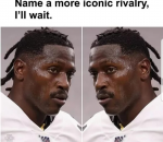 Antonio Brown vs Antonio Brown