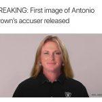 Antonio Brown's Accuser Meme