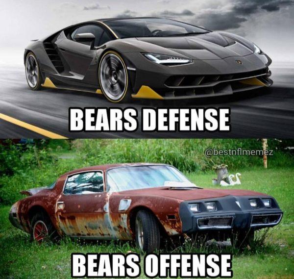 Bears Defense vs Bears Offense