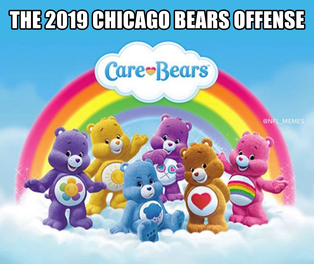Bears Offense Care Bears