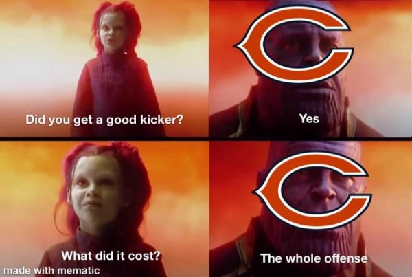 Bears What did it cost meme