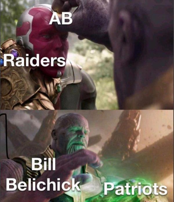 Bill Belichick Thanos