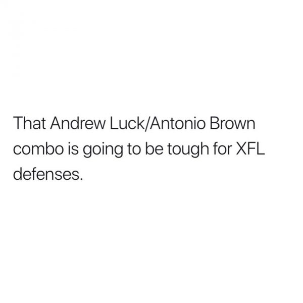 Brown Luck XFL