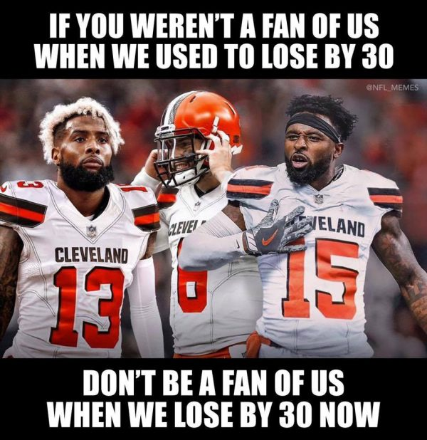 Browns Fans Loyalty