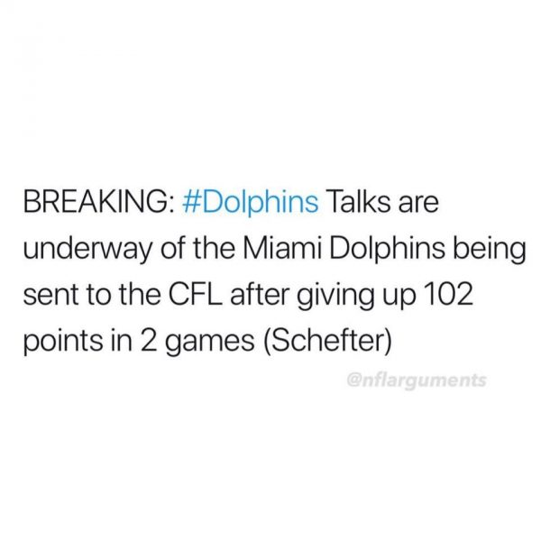Dolphins to the CFL