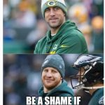 Eagles Ruin it for the Packers