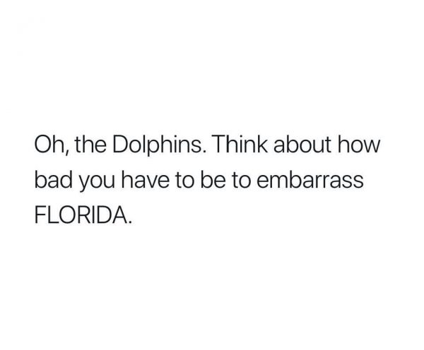 Embarrassing Florida