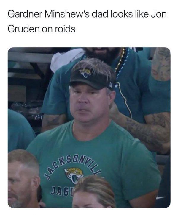 Gardner Minshew Dad