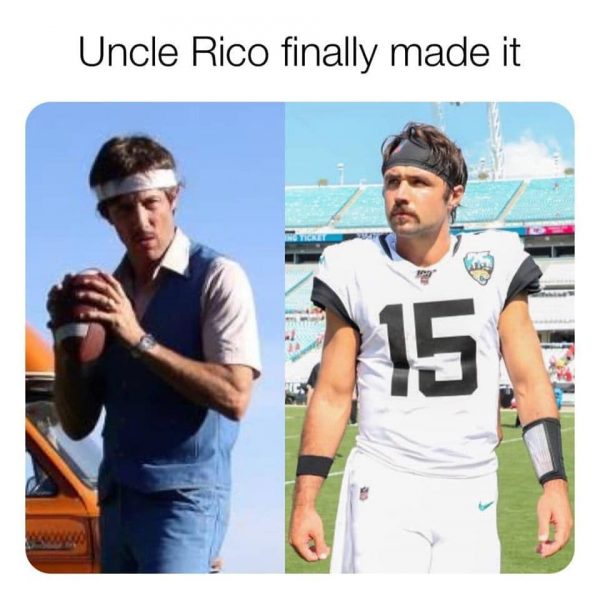 Minshew Uncle Rico