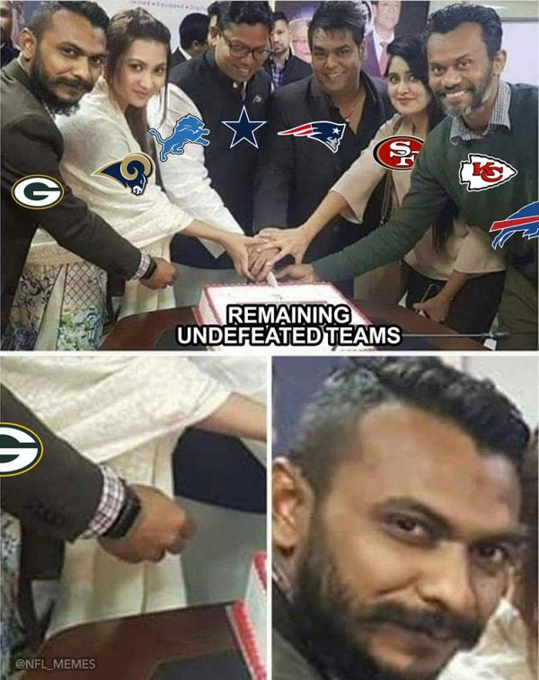 Packers no more undefeated