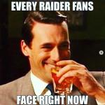 Raiders Fans Gloating