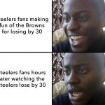 Steelers Fans Shocked
