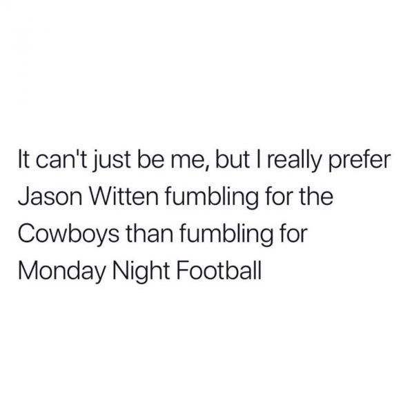 Witten Fumbling Meme