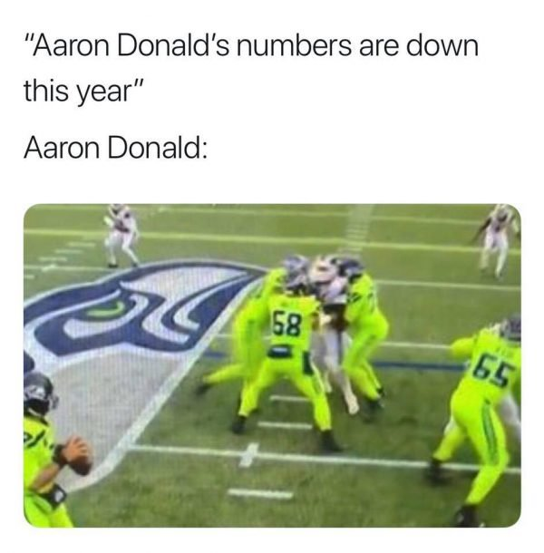 Aaron Donald Held Up