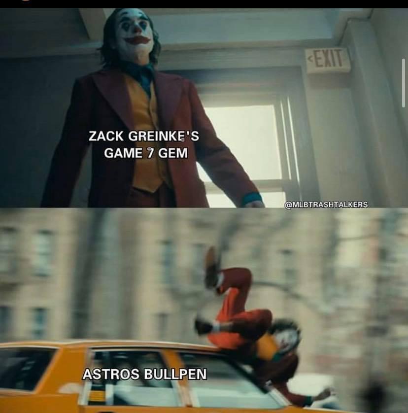 Bullpen ruined Zack Greinke