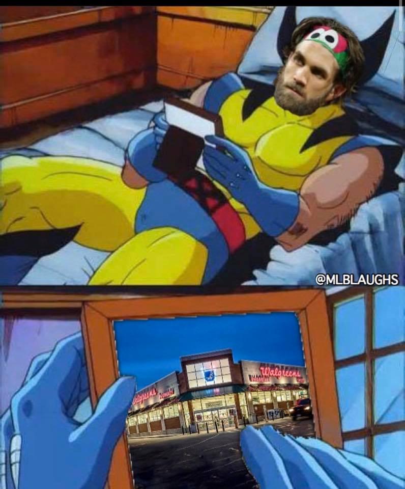 Harper misses Walgreens