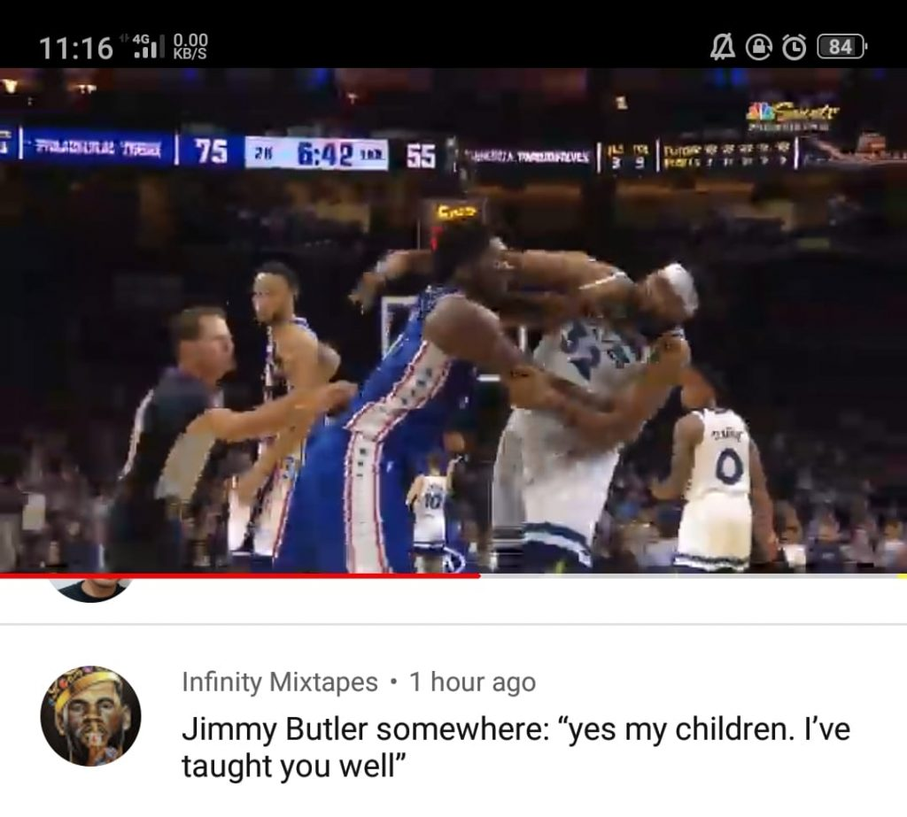 Jimmy Butler Proud