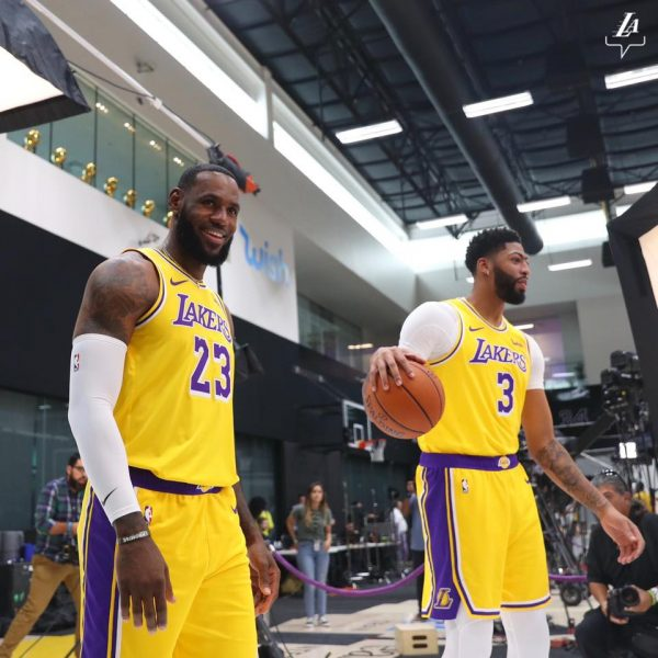LeBron & Anthony Davis