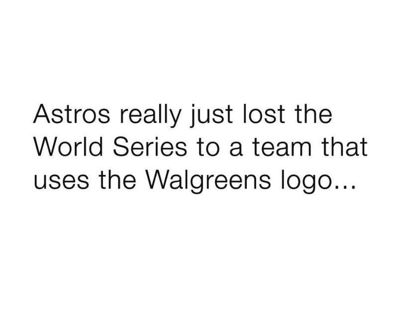 Losing to Walgreens